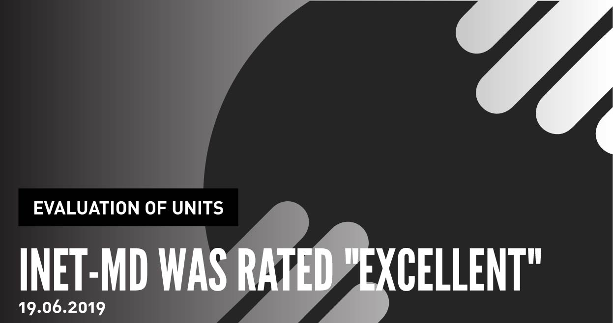 "INET-md was rated ""Excellent"" in the FCT's Evaluation of Units R&D 2017/2018"