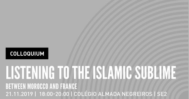 Colloquium | Listening to the Islamic Sublime between Morocco and France
