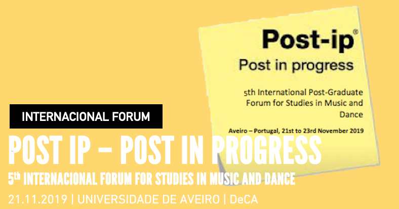 International Forum | Post-ip'19