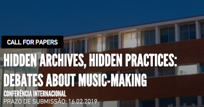 International Congress Hidden Archives, Hidden Practices: Debates about music-makin